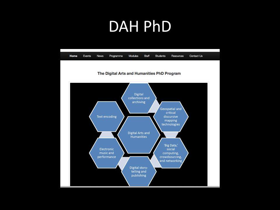 DAH PhD