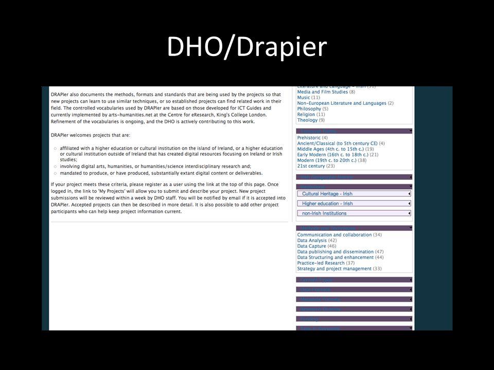 DRI: Digital Repository of Ireland