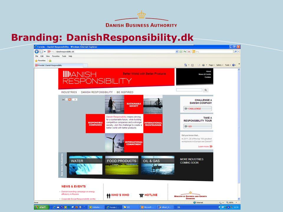 Branding: DanishResponsibility.dk