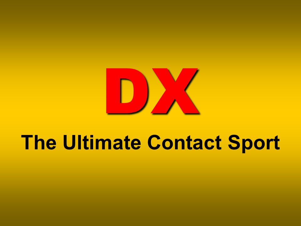 DX DX The Ultimate Contact Sport