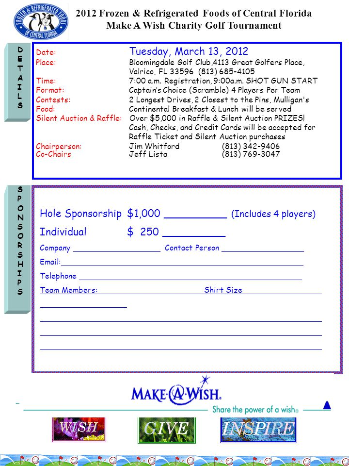 ENTRYENTRY PLEASE EMAIL APPLICATIONS TO : shivers@coolfoods.orgshivers@coolfoods.org Pay with credit card via PayPal (after 11/8/11) at: www.coolfoods.org OR MAKE CHECKS PAYABLE TO: Frozen & Refrigerated Foods of Central FL P.O.