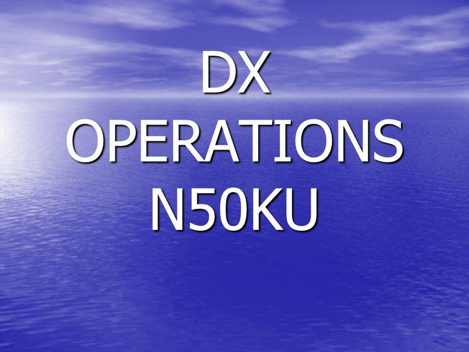 DX OPERATIONS N50KU