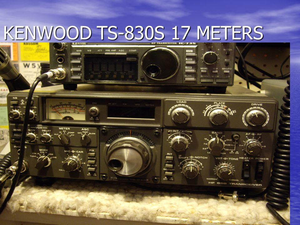 KENWOOD TS-830S 17 METERS