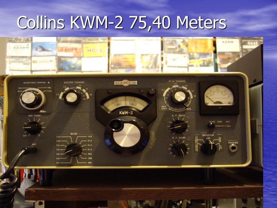 Collins KWM-2 75,40 Meters