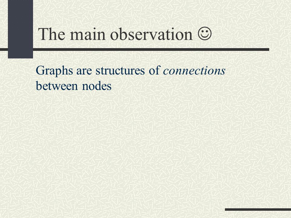Nice properties of properties P d Constructability: we can construct graphs having properties P d (dK-graphs) Inclusion: if a graph has property P d, then it also has all properties P i, with i < d (dK- graphs are also iK-graphs) Convergence: the set of graphs having property P n consists only of one element, G itself (dK-graphs converge to G)