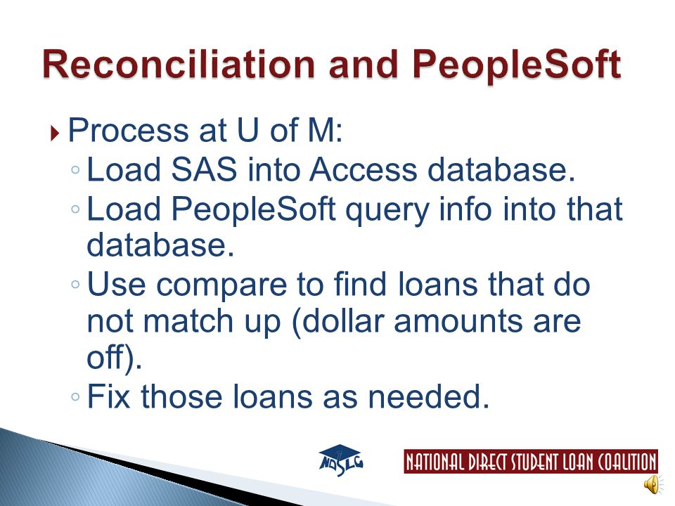  Keep a copy of the PDF generated for auditors to show you're doing monthly reconciliation.