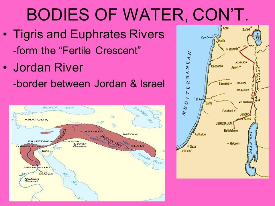 HOME TO THE BIG 3 Where Judaism, Christianity, and Islam began