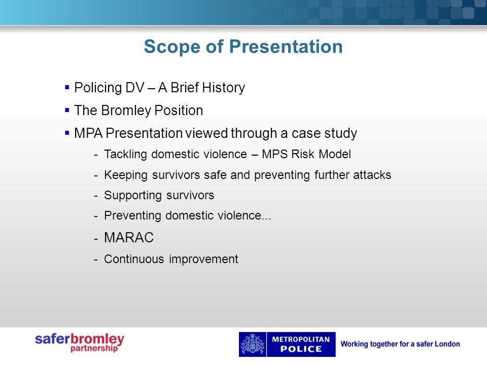 10 years ago Crash scene  Introduction of Community Safety Units (CSU).
