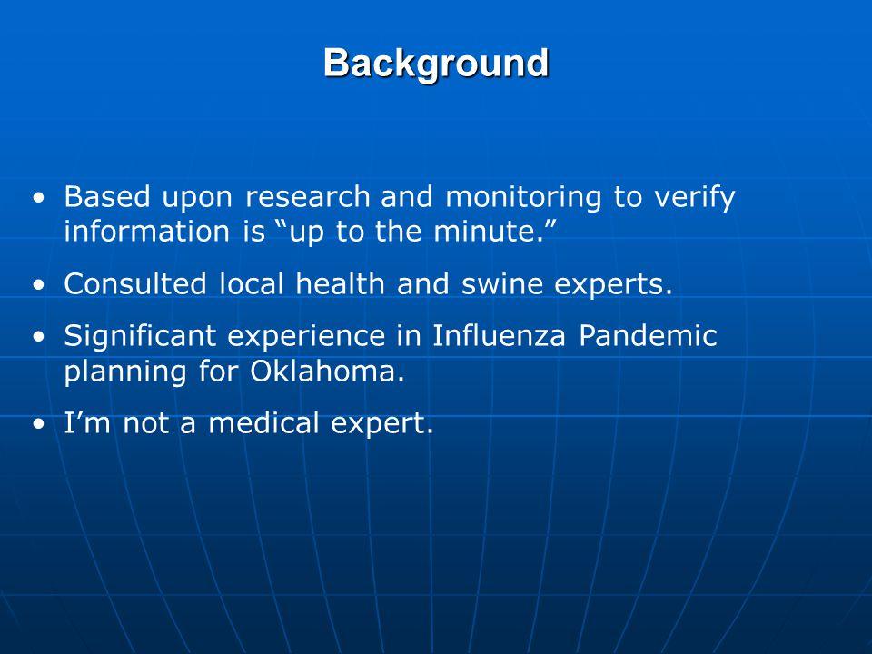 Report Goals 1.Define the A-H1N1 Influenza Virus.2.Summarize the 2009 A-H1N1 Influenza Outbreak.