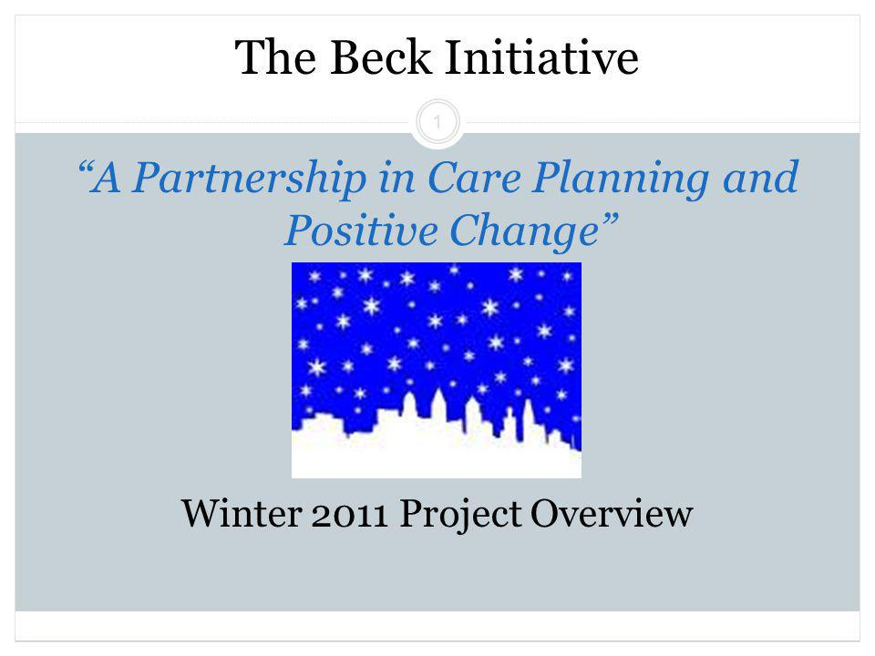 Beck Initiative Winter 2011 Regina Xhezo 12 Preliminary Training Outcomes Overall, 84% therapists achieved competence (CTS=40+) Practicum Model (n=19): 79% competent Individual Feedback Model (n=37): 87% competent 93% scored over a 35 by their final session Change pre- to post-training M= 16 (sd=10) Change from first score to highest score M=19 (sd=7)