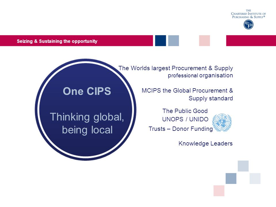 How CIPS can help Expanding the CIPS spotlight