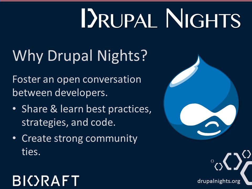 Nic Laflin Using Drupal as a Platform April 2014 drupalnights.org