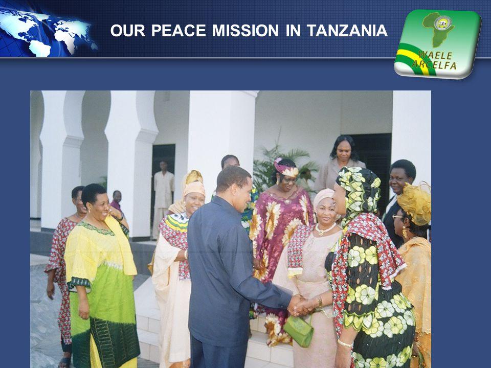 LOGO OUR PEACE MISSION IN TANZANIA