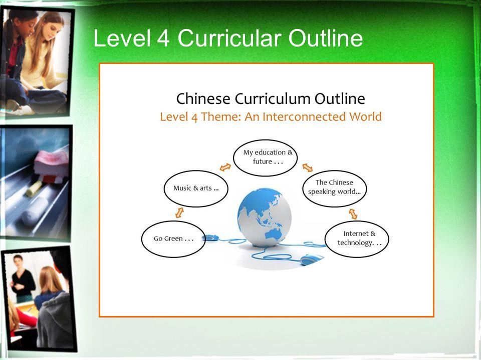 Level 4 Curricular Outline