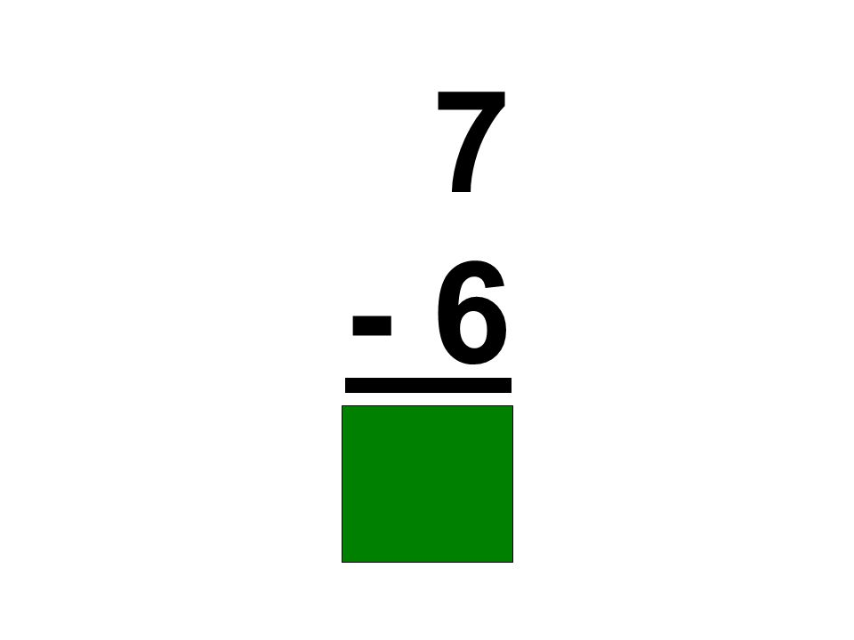 7 - 6 1
