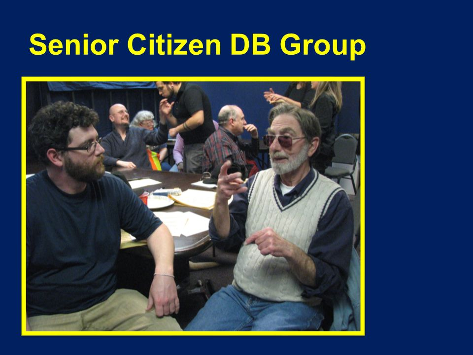 Senior Citizen DB Group