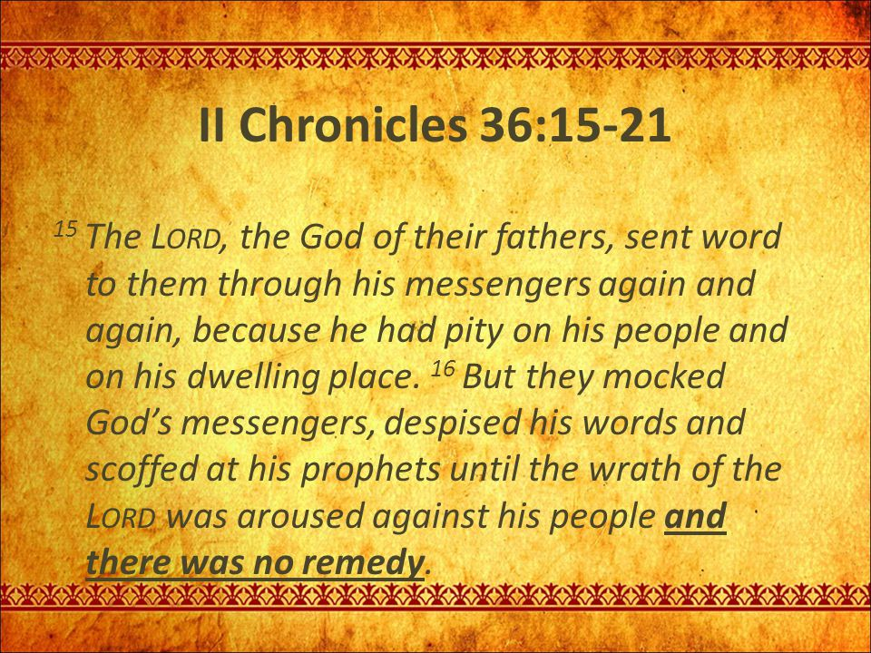 God cares about total restoration of His people … Zechariah 8:1-5 Again the word of the L ORD Almighty came to me.