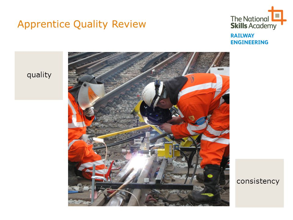 Apprentice Quality Review consistency quality