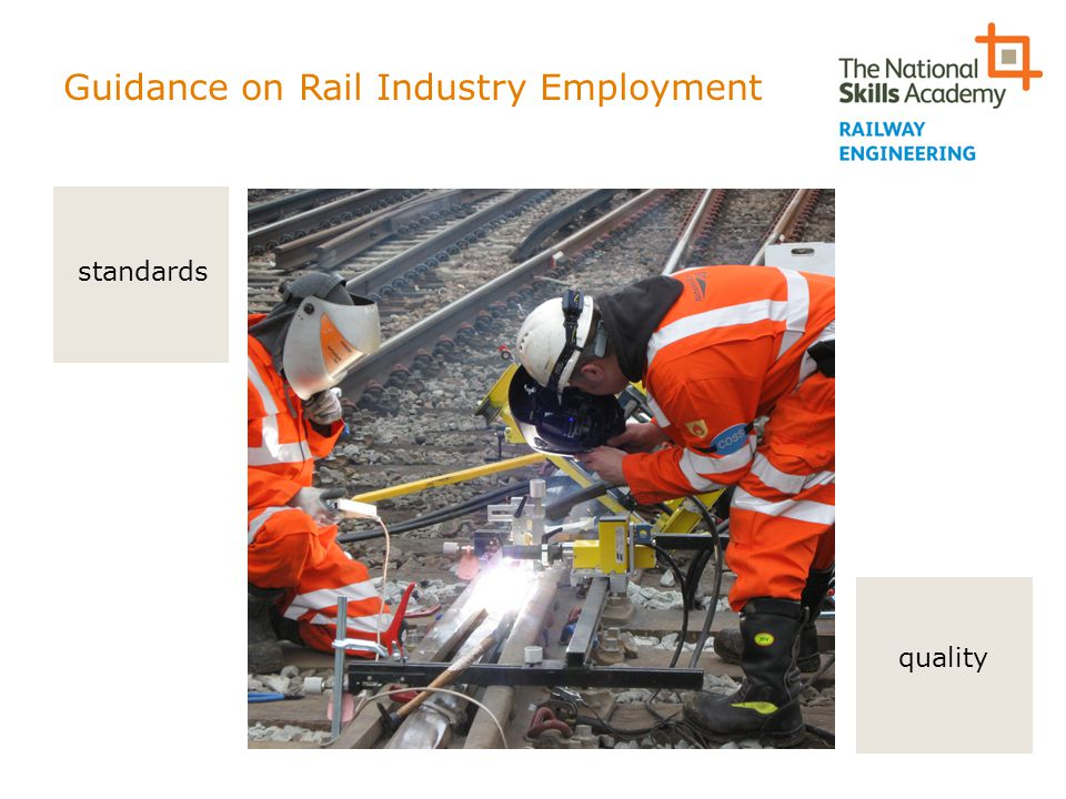 Guidance on Rail Industry Employment quality standards