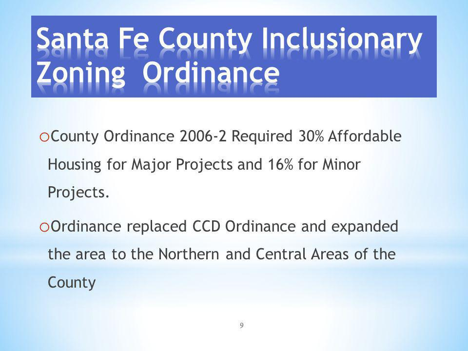 10 o Affordable housing should be located in primary growth areas of the County with adequate public facilities and services.