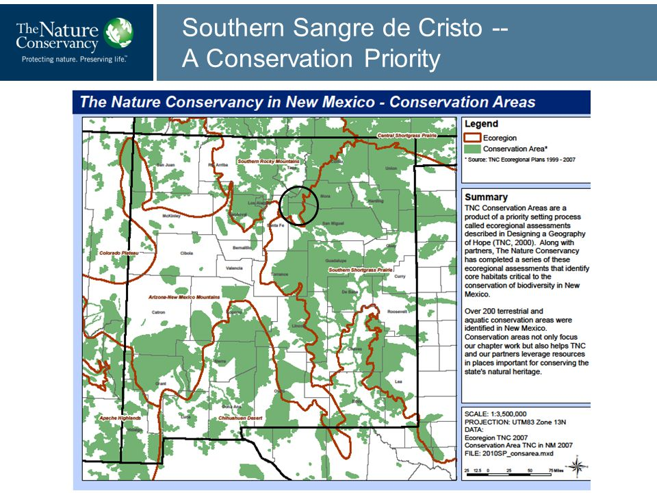 Southern Sangre de Cristo -- A Conservation Priority
