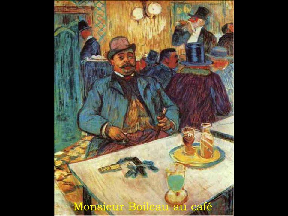 Monsieur Boileau au café