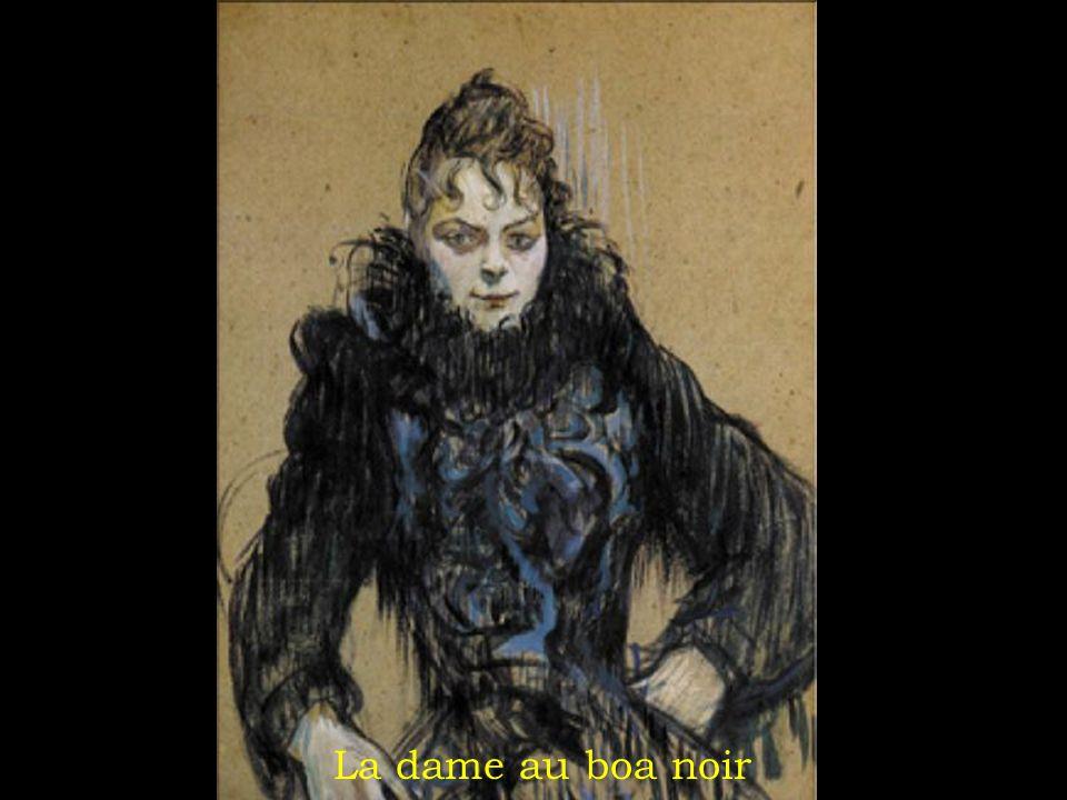 La dame au boa noir