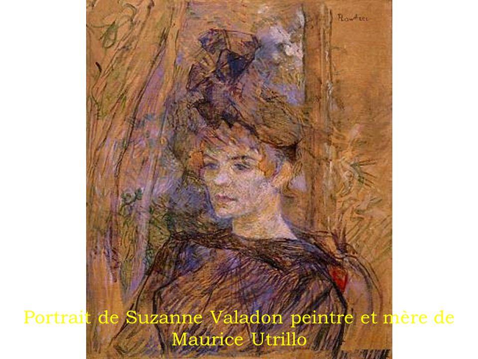 Portrait de Suzanne Valadon peintre et mère de Maurice Utrillo
