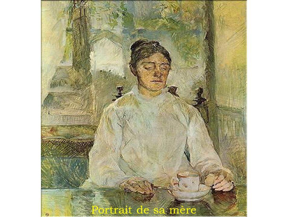 Portrait de sa mère