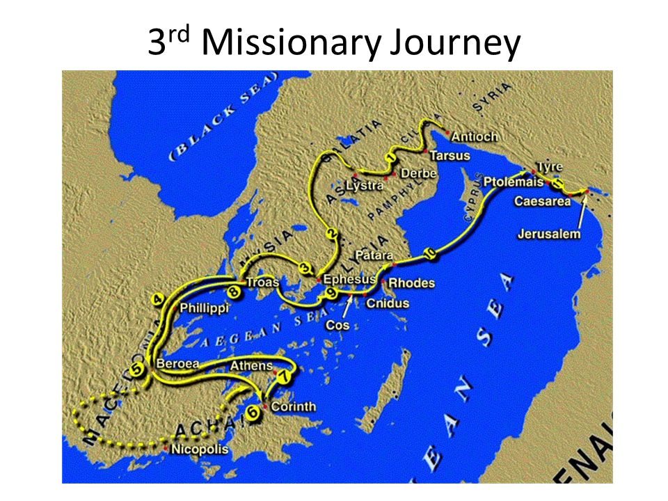 3 rd Missionary Journey