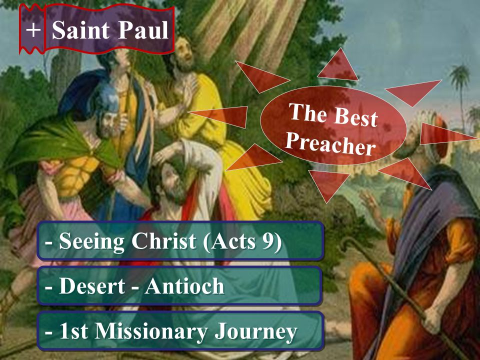 + + Saint Paul - 2nd Missionary Journey 1st & 2nd Letter to Thessalonica - 3rd Missionary Journey Romans 1st & 2nd Corinthians Galatians