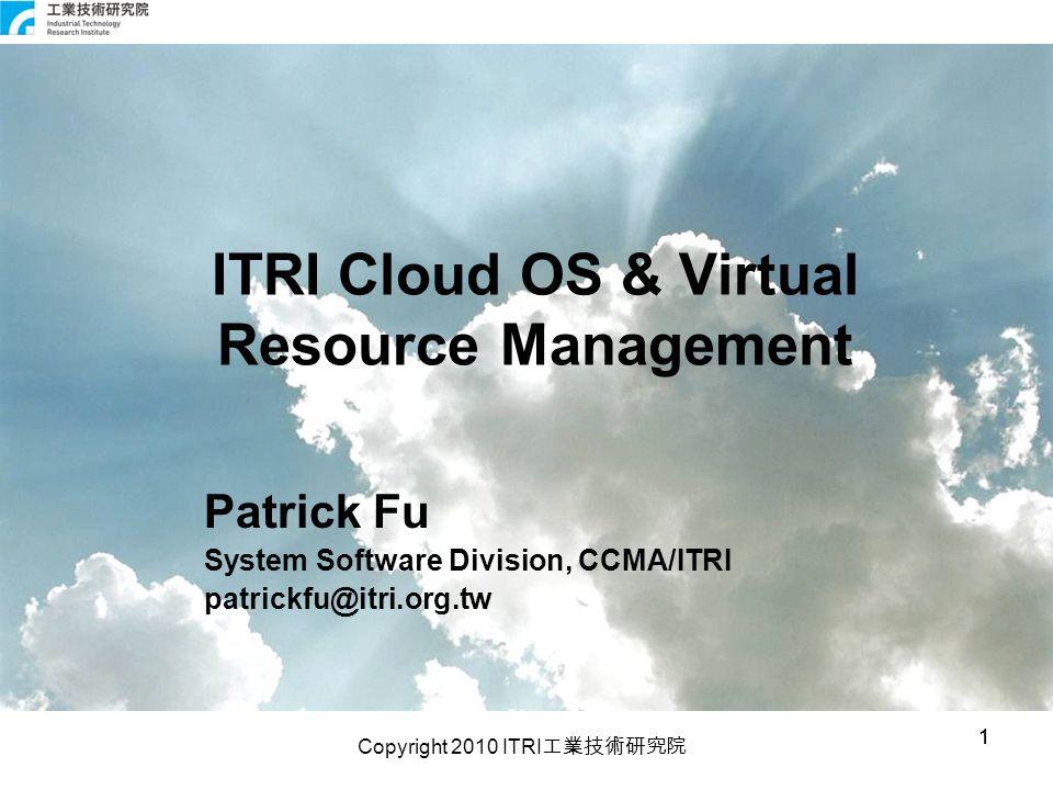 Copyright 2010 ITRI 工業技術研究院 22 Backup