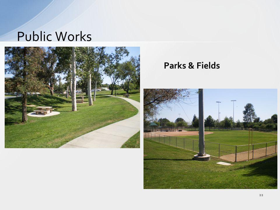 Public Works 22 Parks & Fields