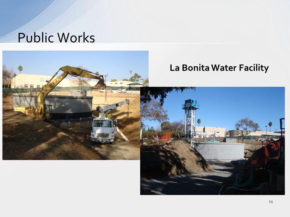 Public Works 25 La Bonita Water Facility