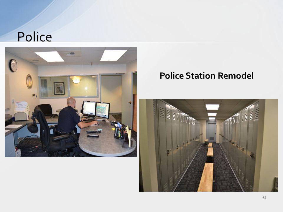 Police 43 Police Station Remodel