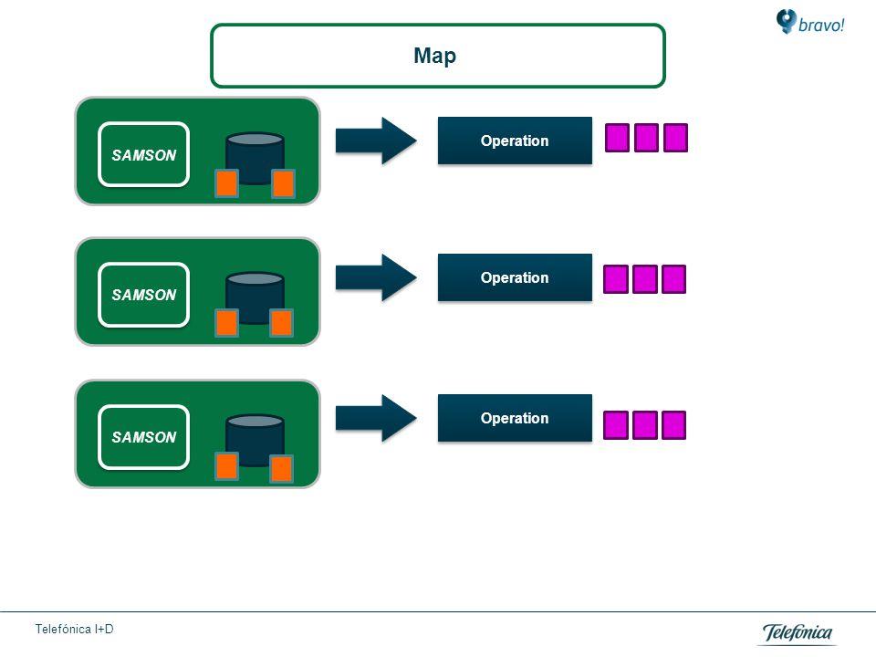 Telefónica I+D Operation SAMSON Map