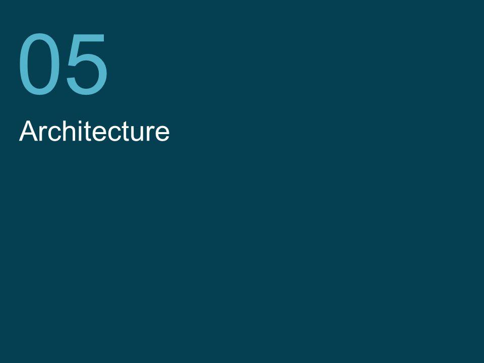 Telefónica I+D Architecture 05