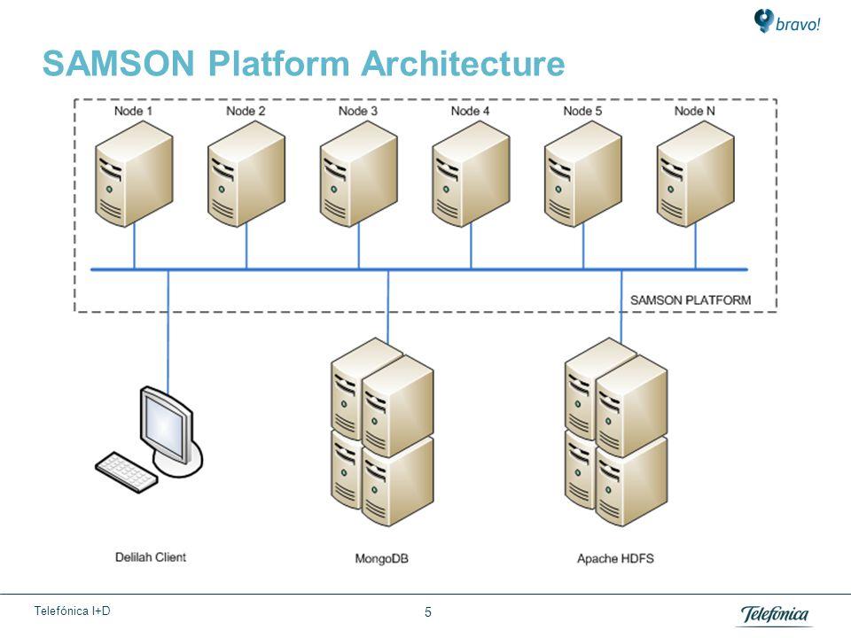 Telefónica I+D SAMSON Platform Architecture 5