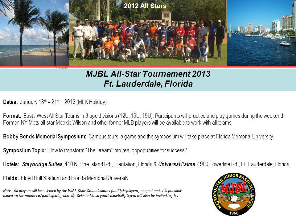 MJBL All-Star Tournament 2013 Ft.