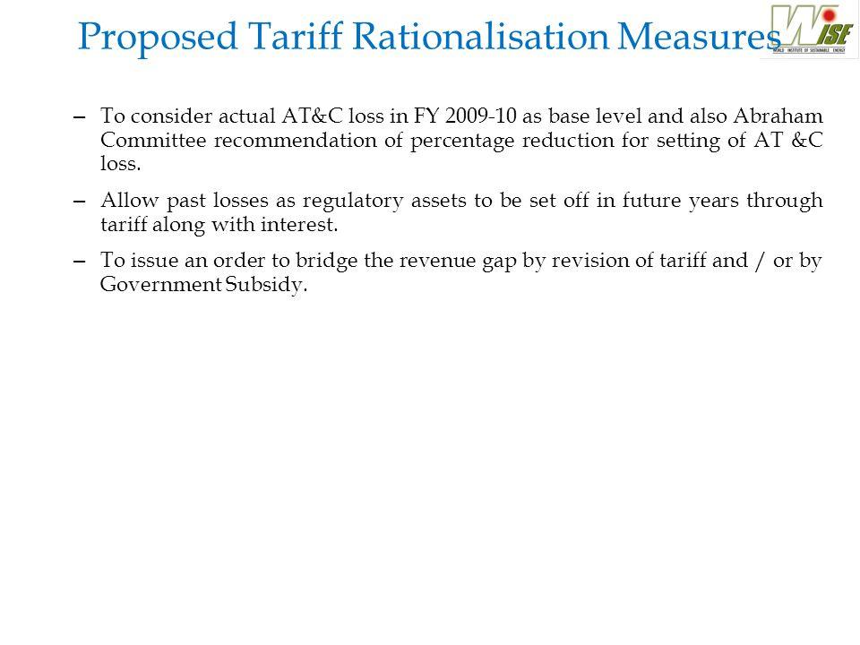 Distribution Loss excluding EHT consumption FY 2009-10 Actual FY2010-11 Proposed FY 2010-11 Revised Estimates FY 2011- 12 Proposed Overall Distribution Loss 39.00%44.28%37.59%34.59% Distribution Loss Excluding EHT consumption 47.51%50.54%46.83%42.78% Distribution Loss Approved in BP 25.37%24% LT Distribution Loss Approved in ARR 29.4% Observation: Distribution loss in HT and LT level is much higher than the overall distribution loss (taking together LT, HT and EHT consumption) and approved distribution loss in BP.