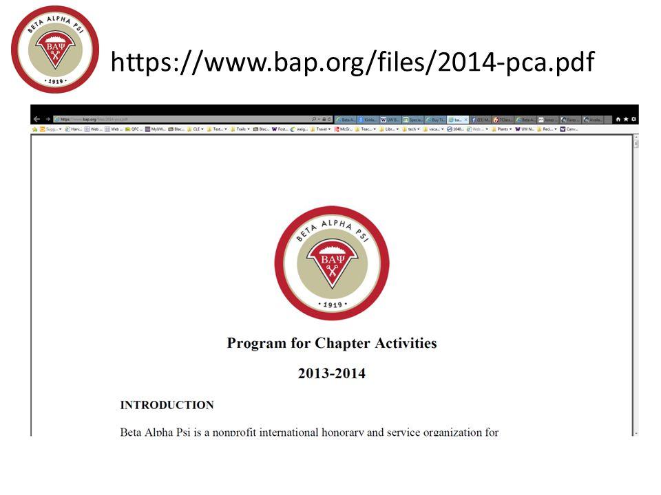 https://www.bap.org/files/2014-pca.pdf https://www.bap.org/chapters