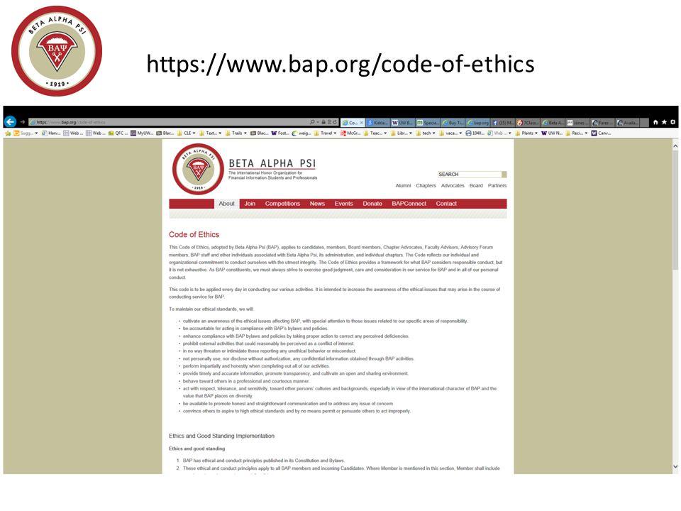 https://www.bap.org/code-of-ethics