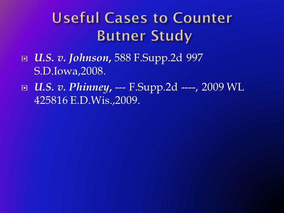  U.S. v. Johnson, 588 F.Supp.2d 997 S.D.Iowa,2008.