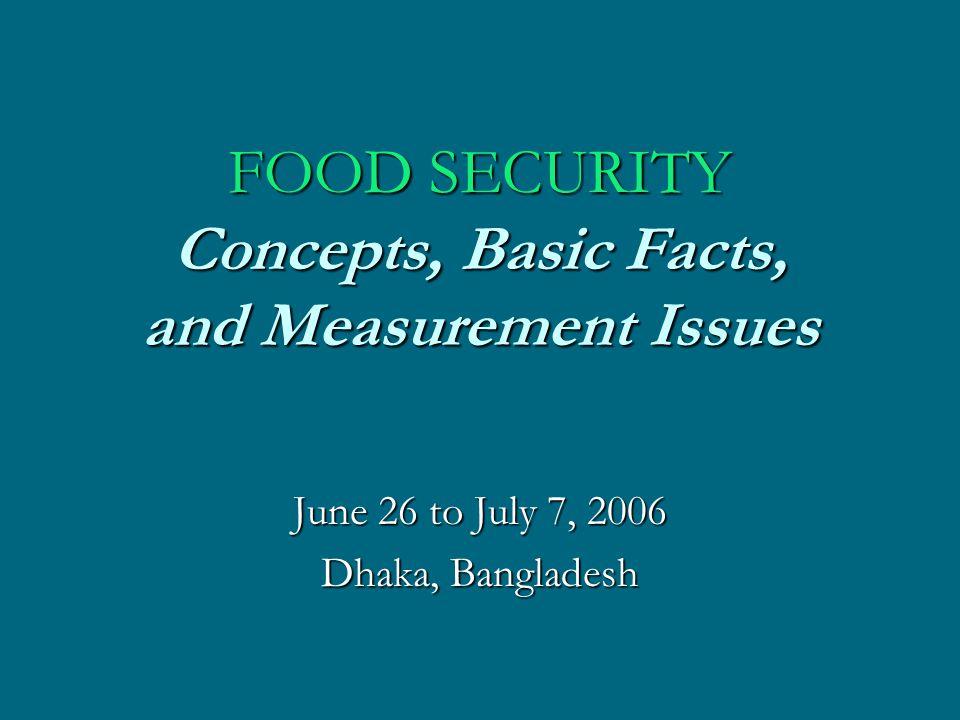 Food Consumption Patterns ENGEL S LAWENGEL S LAW –Food, clothing, shelter, etc.