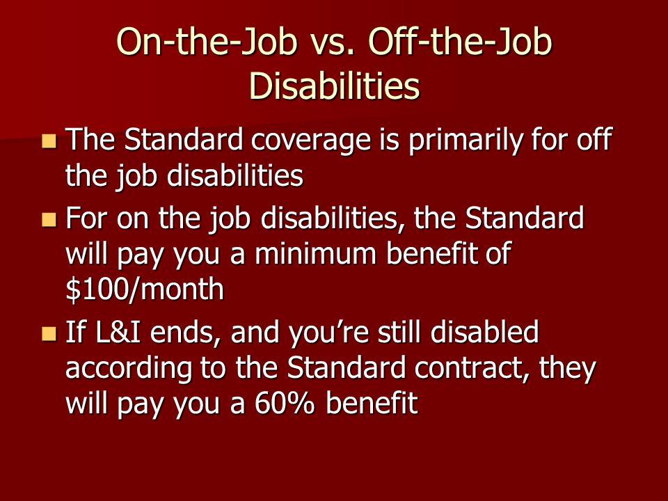 On-the-Job vs.