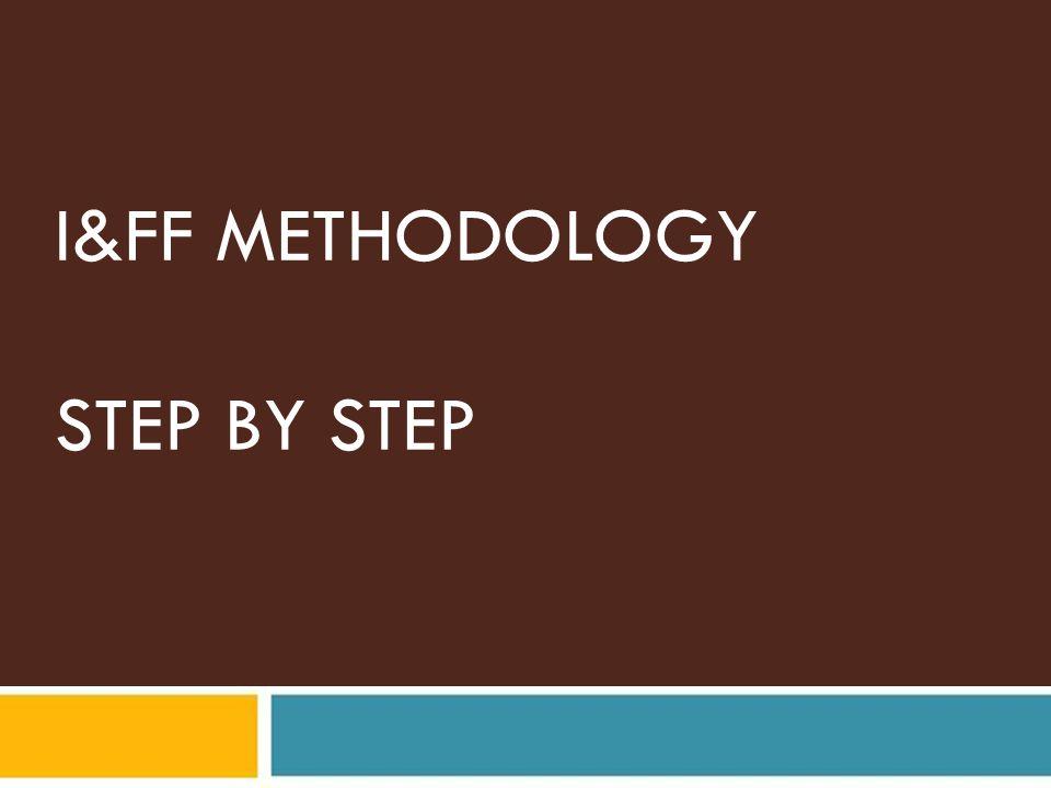 I&FF METHODOLOGY STEP BY STEP