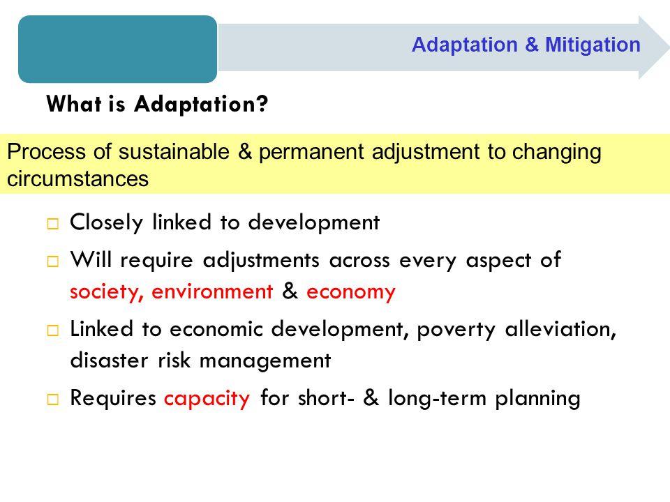 Step 5: Define Mitigation/ Adaptation Scenario