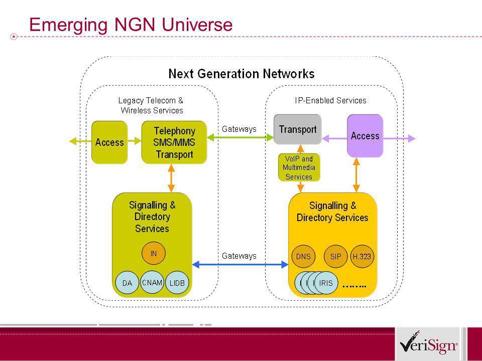 Emerging NGN Universe