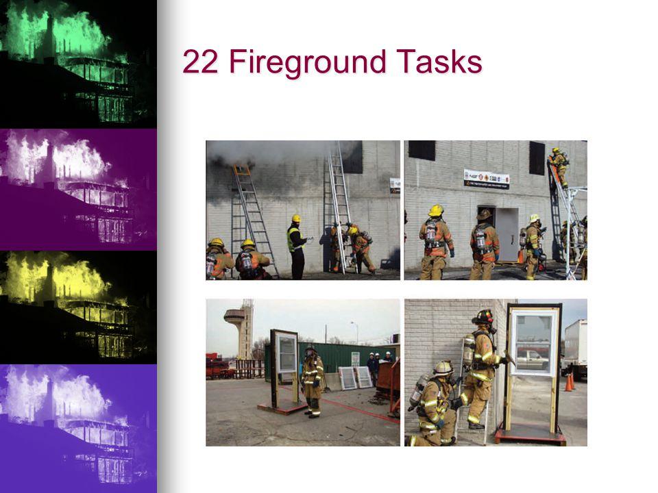 22 Fireground Tasks