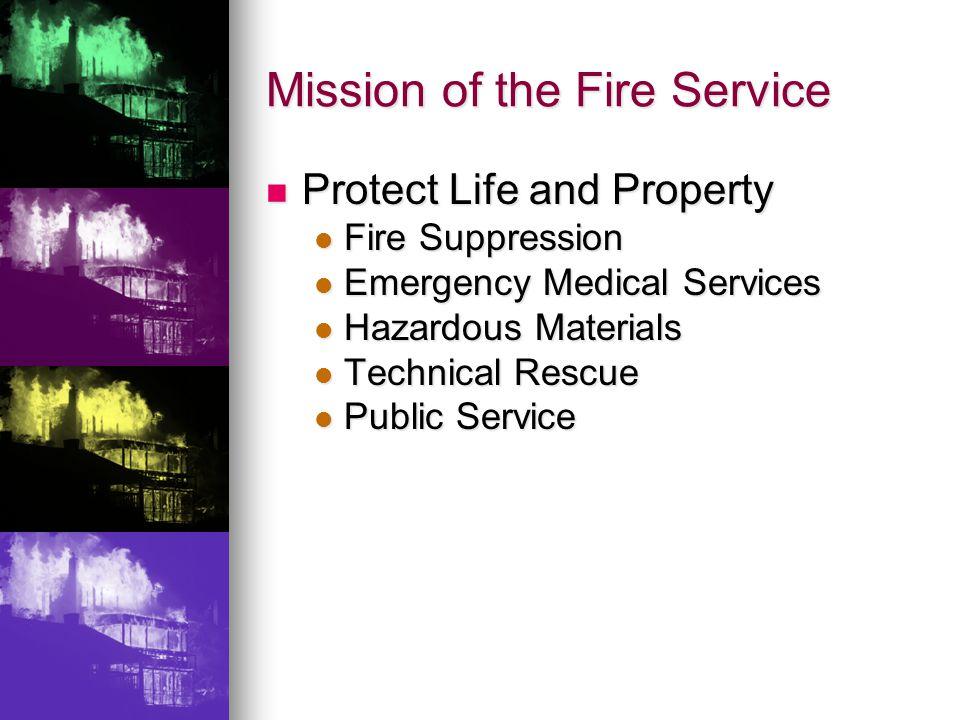 Fire Departments Demographics